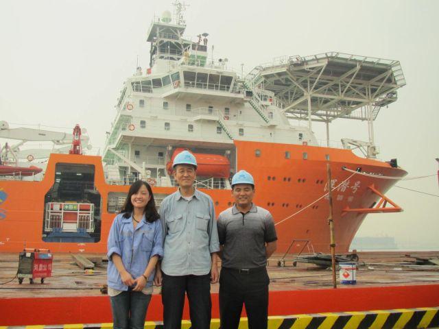 副院长张健走访了青岛澳柯玛股份有限公司,青岛海信集团,武船重工和