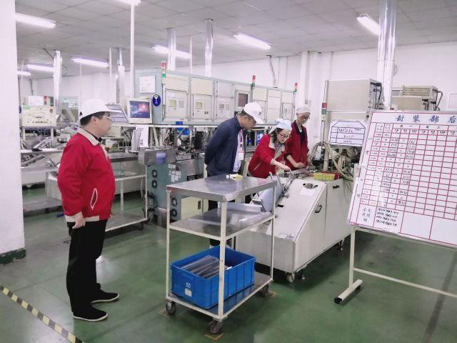 郑州钢贸商会到登封市产业集聚区商务考察